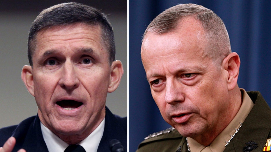 Generals take sides in Clinton-Trump foreign policy fight