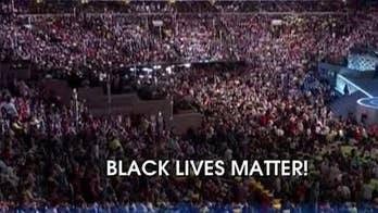 'Black Lives Matter' chant ruins DNC police tribute