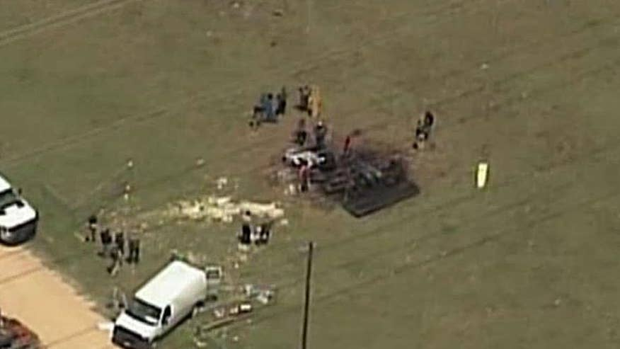 No survivors after hot air balloon crashes in Texas