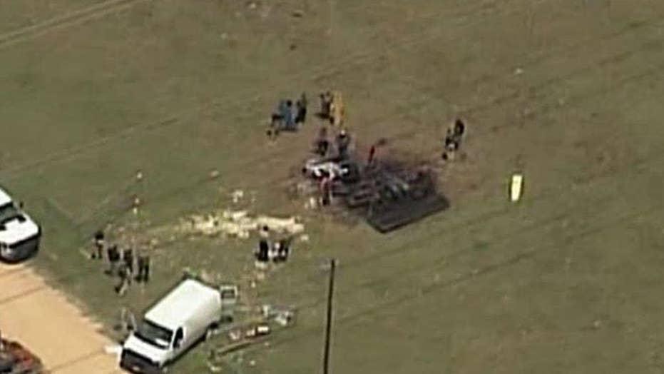 Report: Witness hearing popping noises before balloon crash