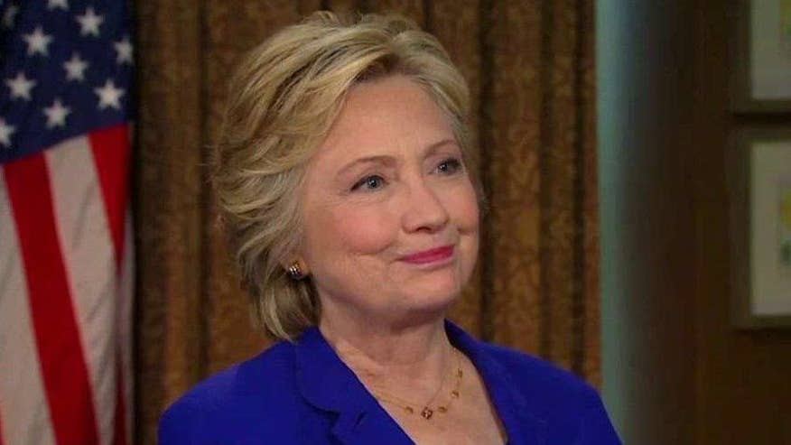 'Fox News Sunday' exclusive: Clinton's first interview as the Democratic presidential nominee