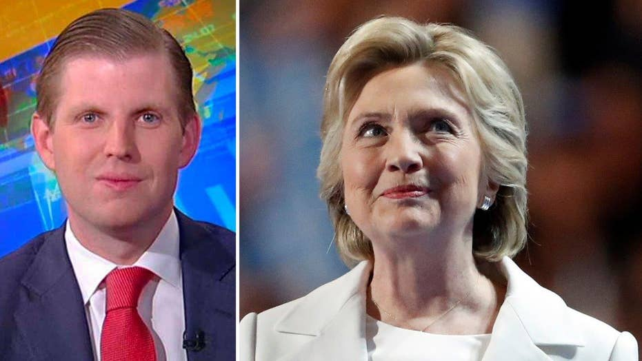 Eric Trump: Hillary never mentioned America's real problems