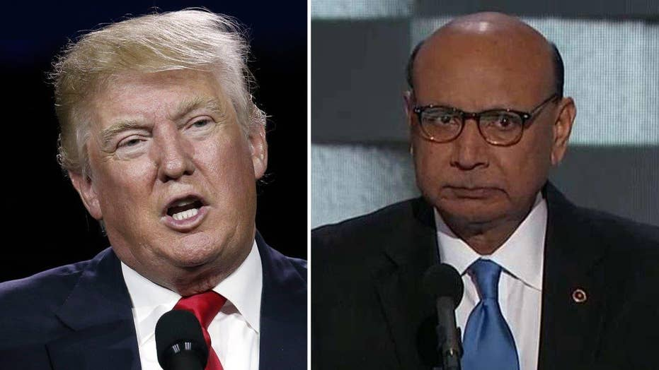 Trump's comments on father of fallen soldier spark backlash