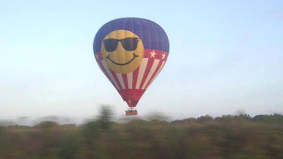 NTSB believes balloon hit power lines before deadly crash