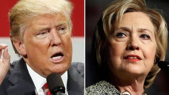 Voter reaction to Donald Trump and Hillary Clinton