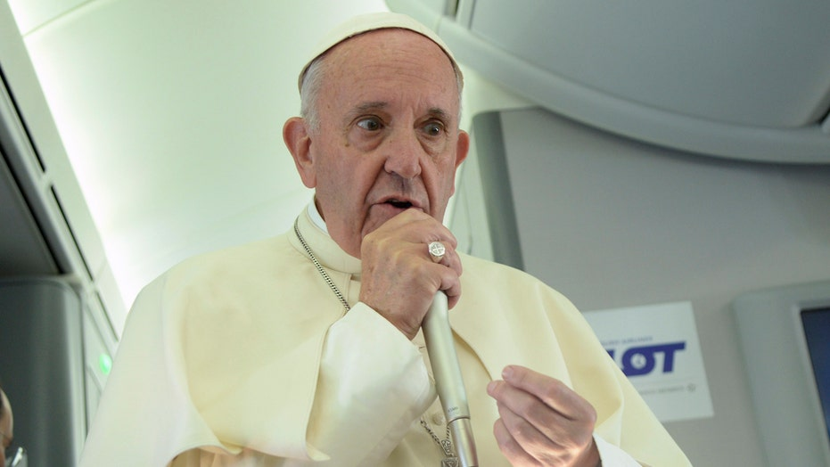 Pope Francis: It's not right to link Islam to violence