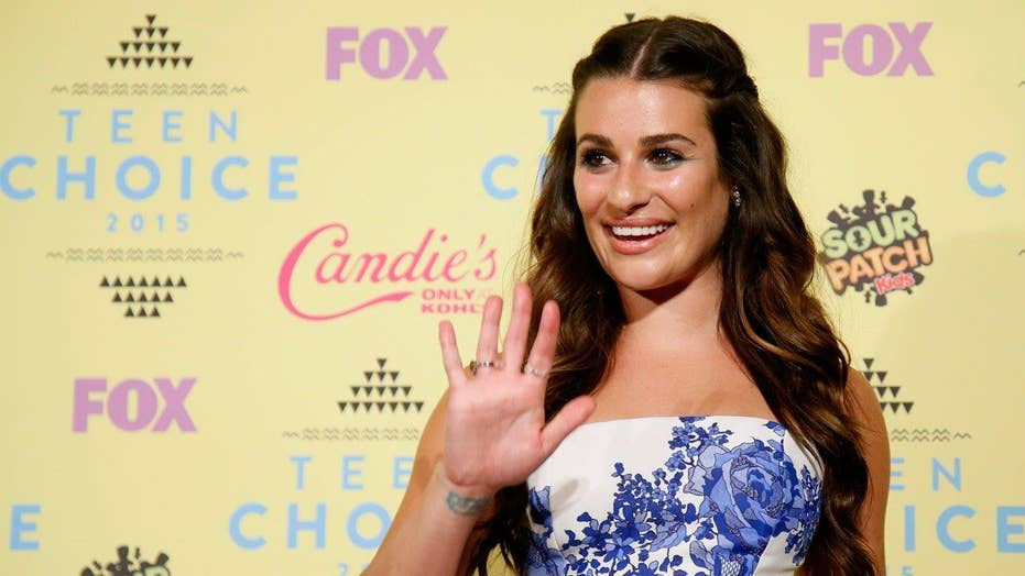 Lea Michele goes naked for mag