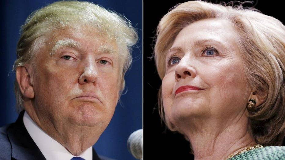 Trump turns up the heat with attacks on Clinton, media