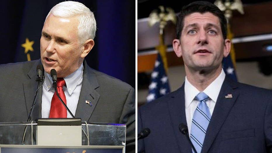 Pence endorses Ryan, says Trump 'strongly encouraged' it