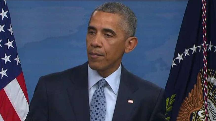 President says the terrorist group's military defeat will not be enough