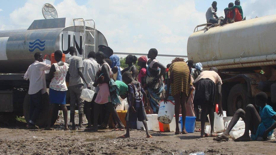 UN calls humanitarian crisis in South Sudan 'catastrophic'