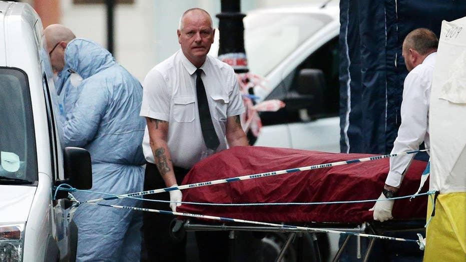 American killed in London identified as wife of professor