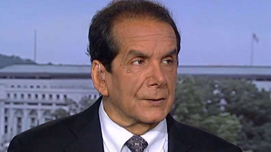 Charles Krauthammer says Clinton has been trapped by her lies about her e-mails.
