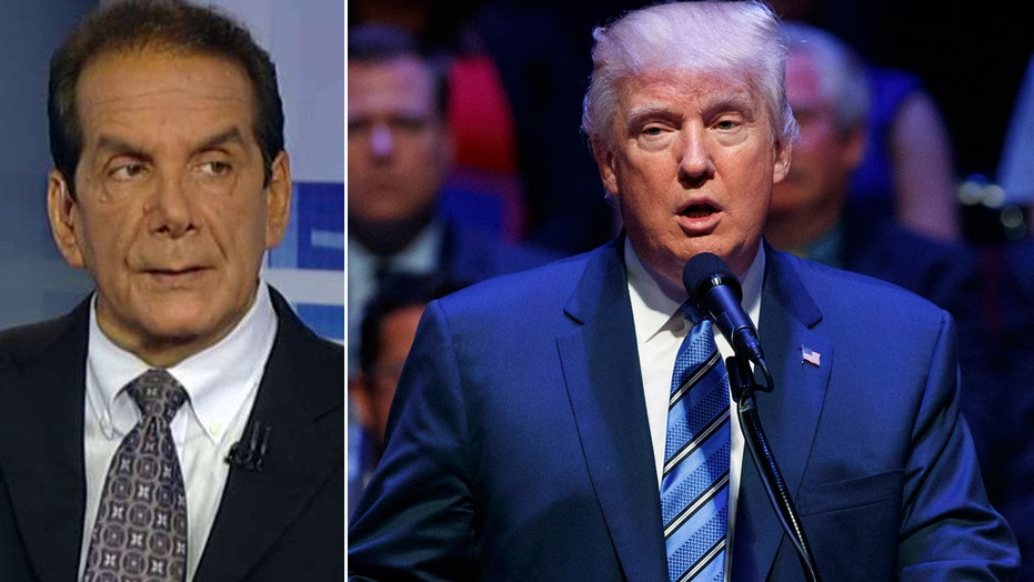 Krauthammer: With Trump, it's a character issue now