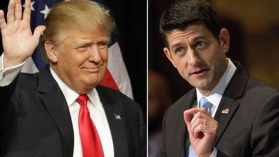 Trump endorses Paul Ryan, John McCain and Kelly Ayotte