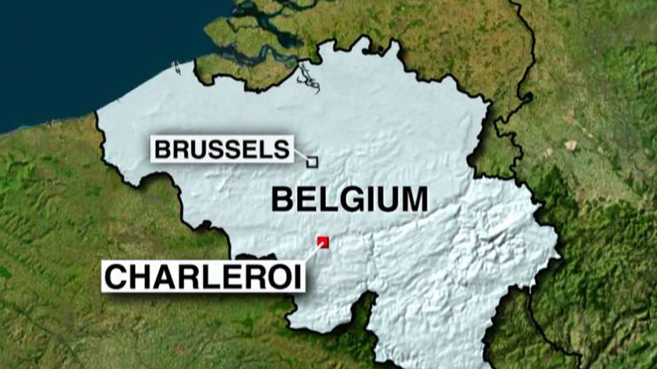 Belgian media: Two police officers wounded in machete attack