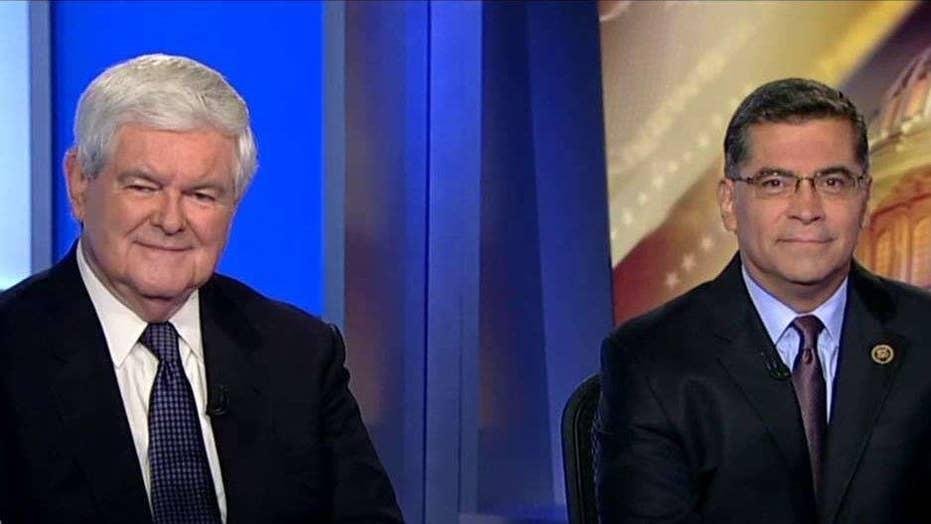 Exclusive: Gingrich, Becerra debate state of 2016 race