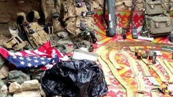 ISIS fighters in Afghanistan claimed to have recently seized a trove of sensitive U.S. military equipment – including communications gear, a rocket launcher and the ID card of a U.S. soldier –but it remains unclear how the items came into the terror group's possession.