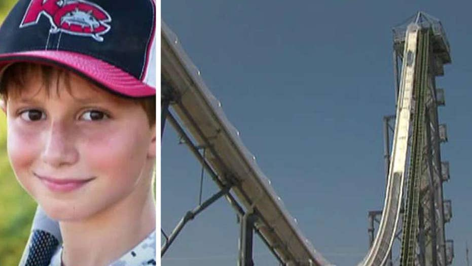 Boy killed in accident on world's tallest water slide