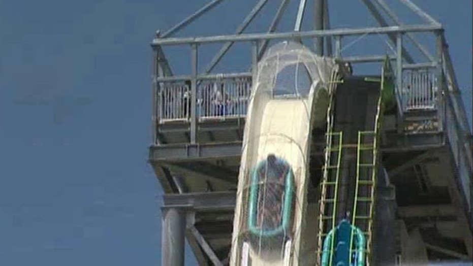 Officials investigate death on world's tallest water slide