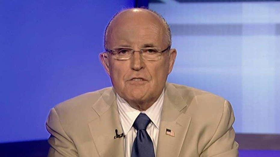 Giuliani: Trump following the model of JFK, Reagan and me