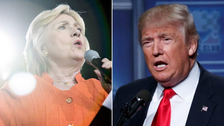 Donald Trump, Hillary Clinton clash on economy