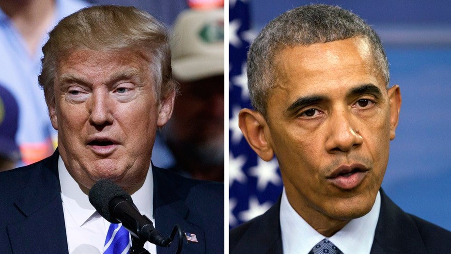 Donald Trump blames President Obama for the creation of ISIS