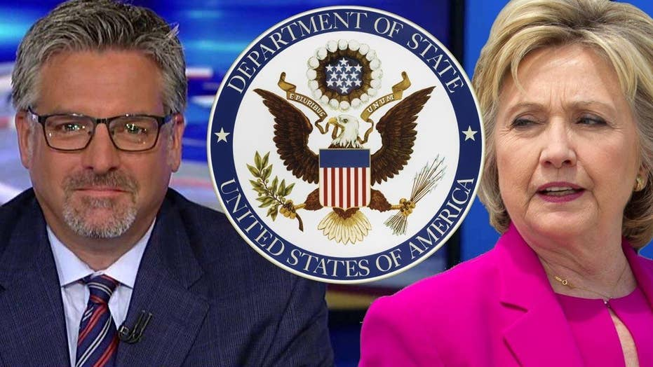 Hayes on State Dept and Clinton Fdn