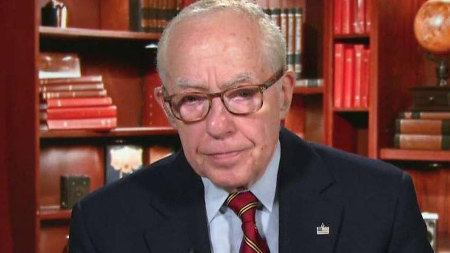 Questions over why - or whether - Justice Dept declined to investigate Clinton Foundation over State Dept. ties. Former Attorney General Michael Mukasey goes 'On the Record' to sound off