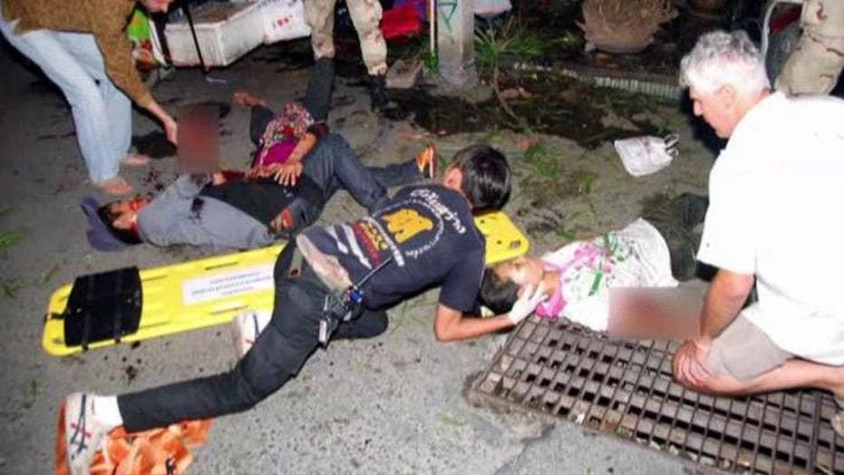 Wave of coordinated bombings rock cities across Thailand