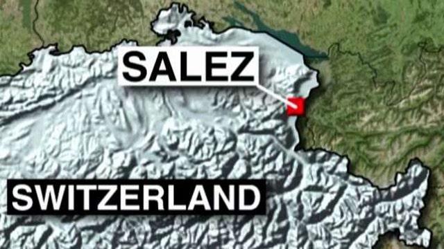 Lone suspect sets train on fire in Switzerland