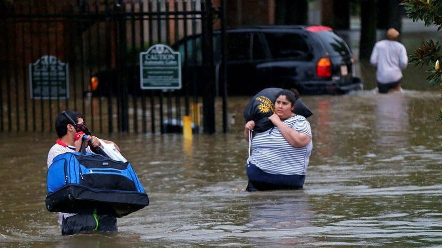 Parts of Louisiana have received over a foot of rain