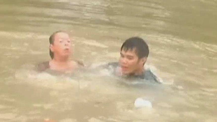 Louisiana flooding continues