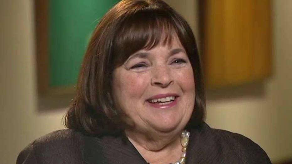 The Barefoot Contessa makes cooking fun and easy