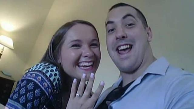 'Ring cam' captures couple's proposal