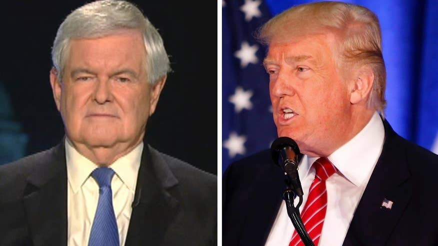 Former House speaker reacts to foreign policy speech on 'Hannity'