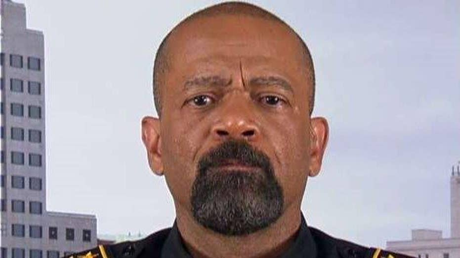 Sheriff Clarke: Police shootings don't create riots