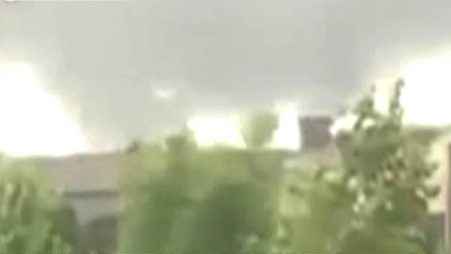 It's on the ground! Residents record tornado in Indiana