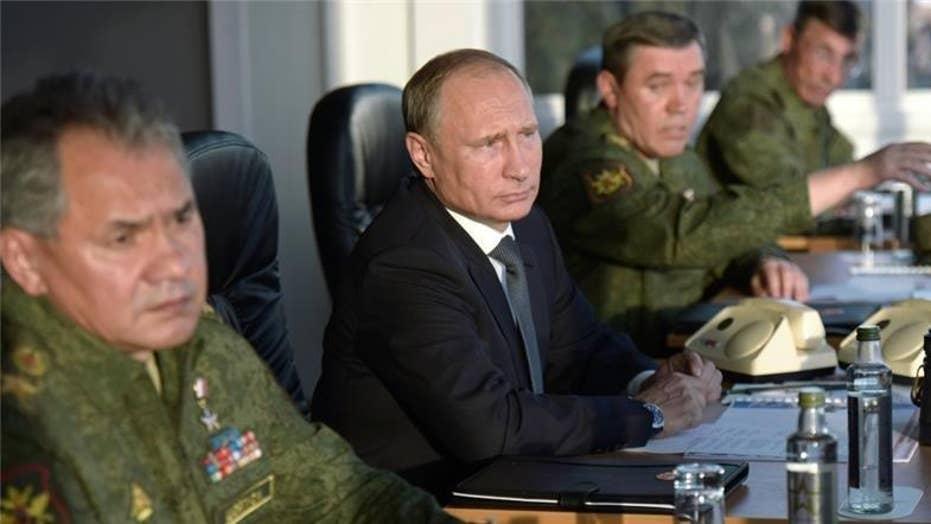 Russia escalates involvement in Syrian civil war