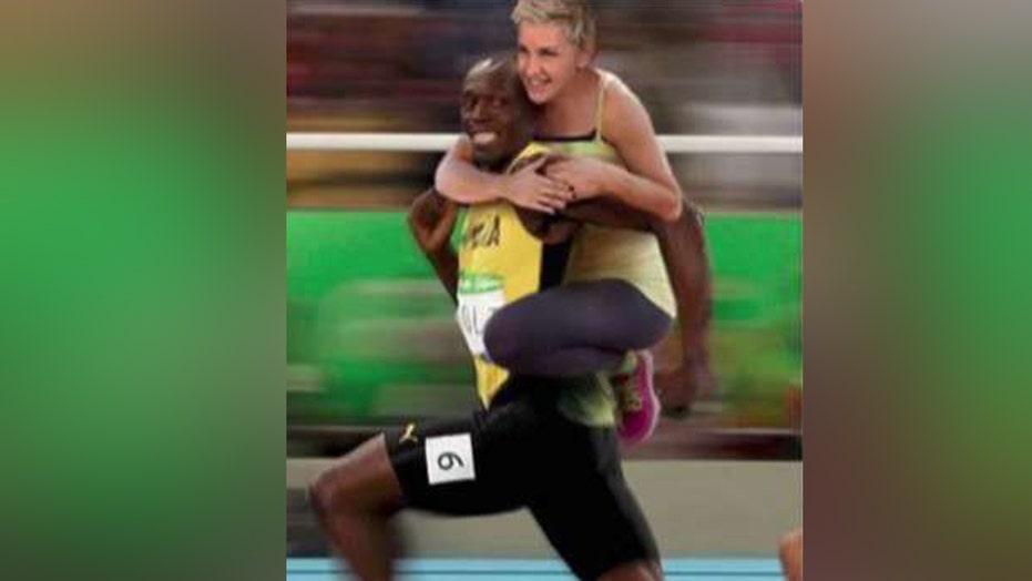 Ellen DeGeneres accused of racism over Usain Bolt photo