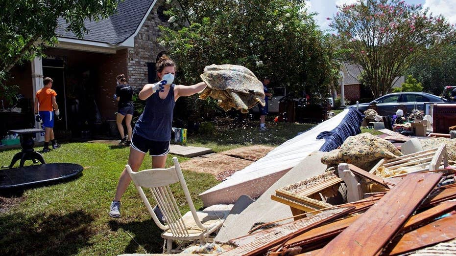 Deadly Louisiana flooding damages at least 40,000 homes