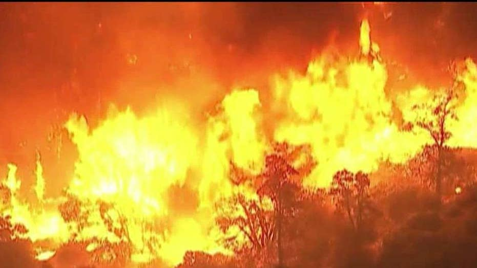 Southern California wildfire forces over 80,000 evacuations