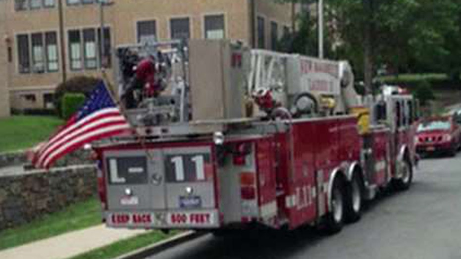 Town orders US flags removed from fire trucks