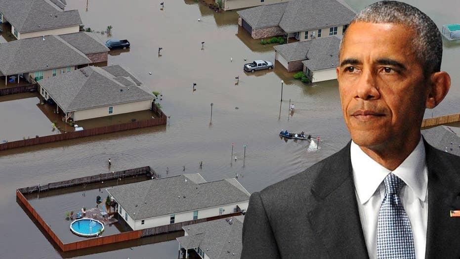 President Obama to visit flood-ravaged Louisiana