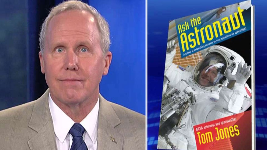 NASA astronaut Tom Jones takes viewer questions on 'America's News HQ'