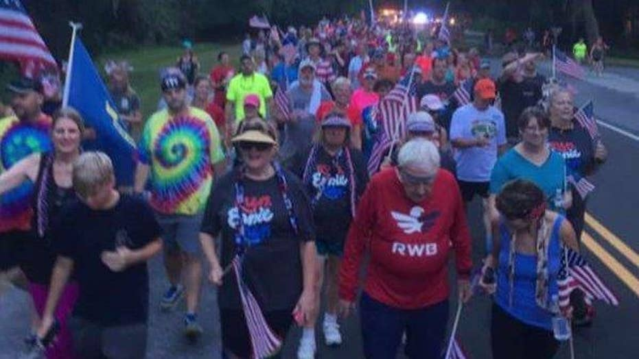 WWII veteran jogs across the United States