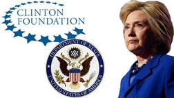 A senior executive at the Clinton Foundation left almost  telephone messages for Hillary Clinton's top aide at the State Department within a two-year time frame, according to previously unpublished documents obtained by Fox News.