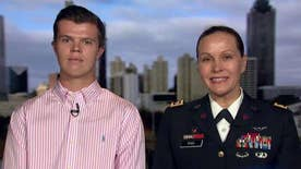 Veteran and the now 17-year-old who wrote to her share their story on 'Fox & Friends'