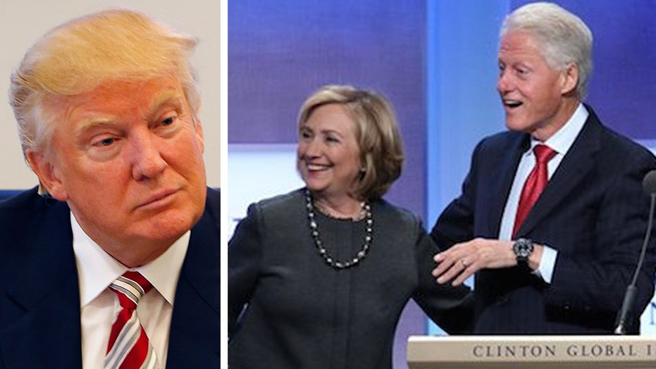 Trump on Clinton Foundation: Shut it down, give money back