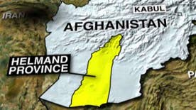 The two were training Afghan troops in the Helmand province